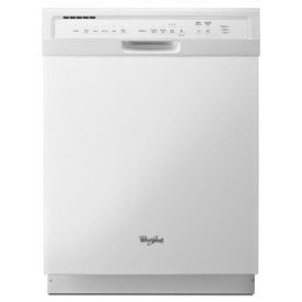 Whirlpool 54-Decibel Built-In Dishwasher (White) (Common:...
