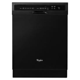 Whirlpool 54-Decibel Built-In Dishwasher (Black) (Common:...