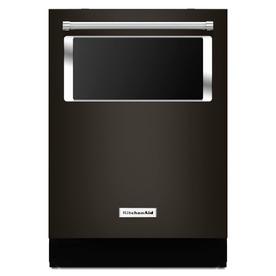 KitchenAid 44-Decibel Built-In Dishwasher (Black Stainles...