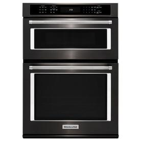 KitchenAid Self-Cleaning Convection Microwave Wall Oven C...