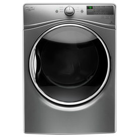 Whirlpool 7.4-Cu Ft Stackable Electric Dryer (Chrome Shad...