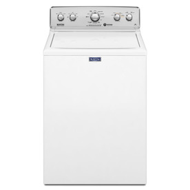 Maytag 3.6-Cu Ft High-Efficiency Top-Load Washer (White) ...