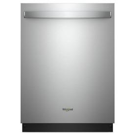 Whirlpool 47-Decibel Built-In Dishwasher (Fingerprint-Res...