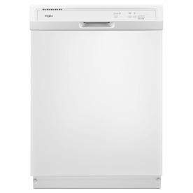 Whirlpool 63-Decibel Built-In Dishwasher (White) (Common:...