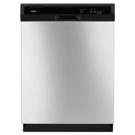 Whirlpool 63-Decibel Built-In Dishwasher (Stainless Steel...