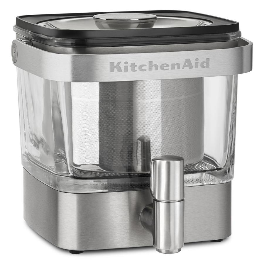 3-Cup Stainless Steel Residential Cold Brew Coffee Maker | - KitchenAid KCM4212SX