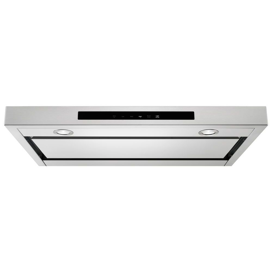 KitchenAid 36-in Convertible Stainless Steel Undercabinet Range Hood 36-in KVUB406GSS