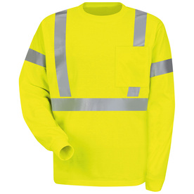 Red Kap Uniforms Small Safety Green High Visibility Refle...