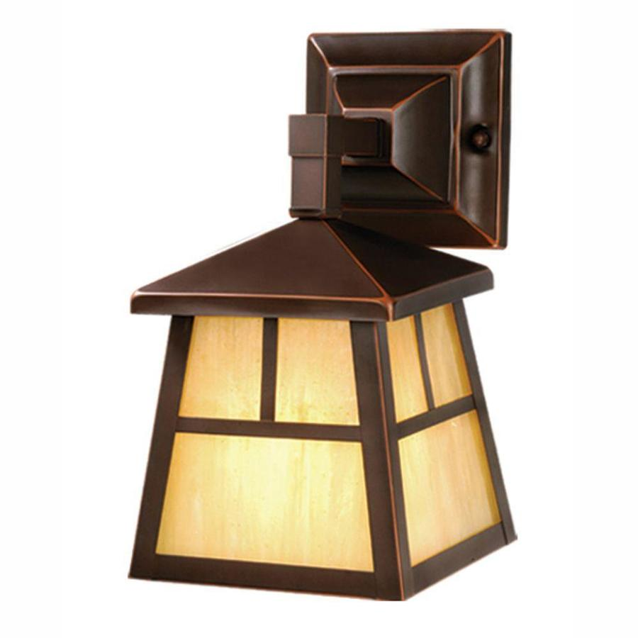 Cascadia Mission 10-in H Burnished Bronze Medium Base (E-26) Outdoor Wall Light   OW37263BBZ
