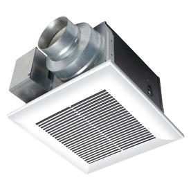 Panasonic 0.3-Sone 80-Cfm White Bathroom Fan Energy Star ...