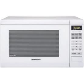 Panasonic 1.2-Cu Ft 1,200-Watt Countertop Microwave (Whit...