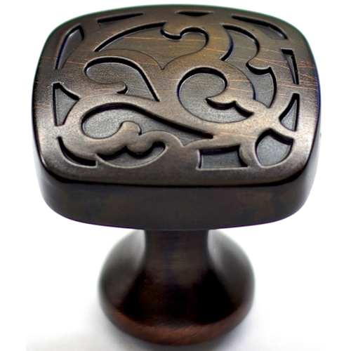 Lowes Kitchen Cabinet Pulls: Allen Roth Aged Bronze Cabinet Pull Knob From Lowes