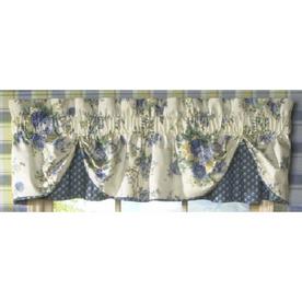 shop waverly home classics 77 x 14 limoges porcelain valance at. Black Bedroom Furniture Sets. Home Design Ideas