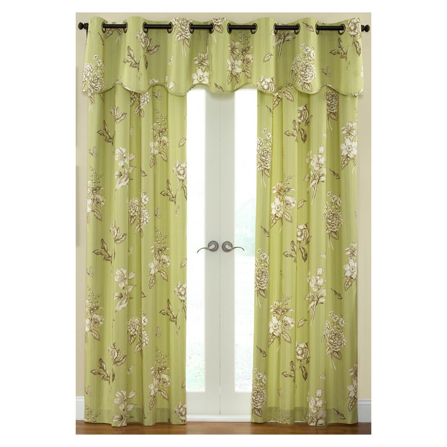 "Shop Waverly 84""L Juniper Curtain Panel At Lowes.com"