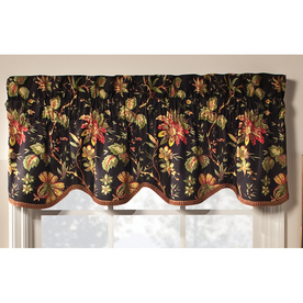 Display Product Reviews For Home Classics 15 In Noir Cotton Rod Pocket Valance