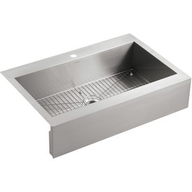 Kohler Vault 24.31-In X 35.75-In Single-Basin Stainless S...