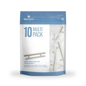 Display Product Reviews For Bar Pulls 10 Pack 96mm Center To Center  Stainless Steel Cabinet