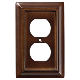Display product reviews for Wood Architectural 1-Gang Espresso Single Duplex Wall Plate  sc 1 st  Loweu0027s & Shop Wall Plates at Lowes.com