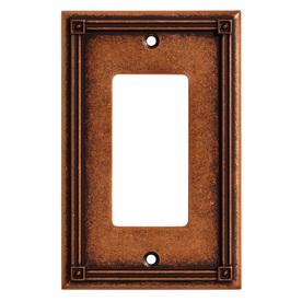 Liberty Hardware Ruston Single Decorator Wall Plate