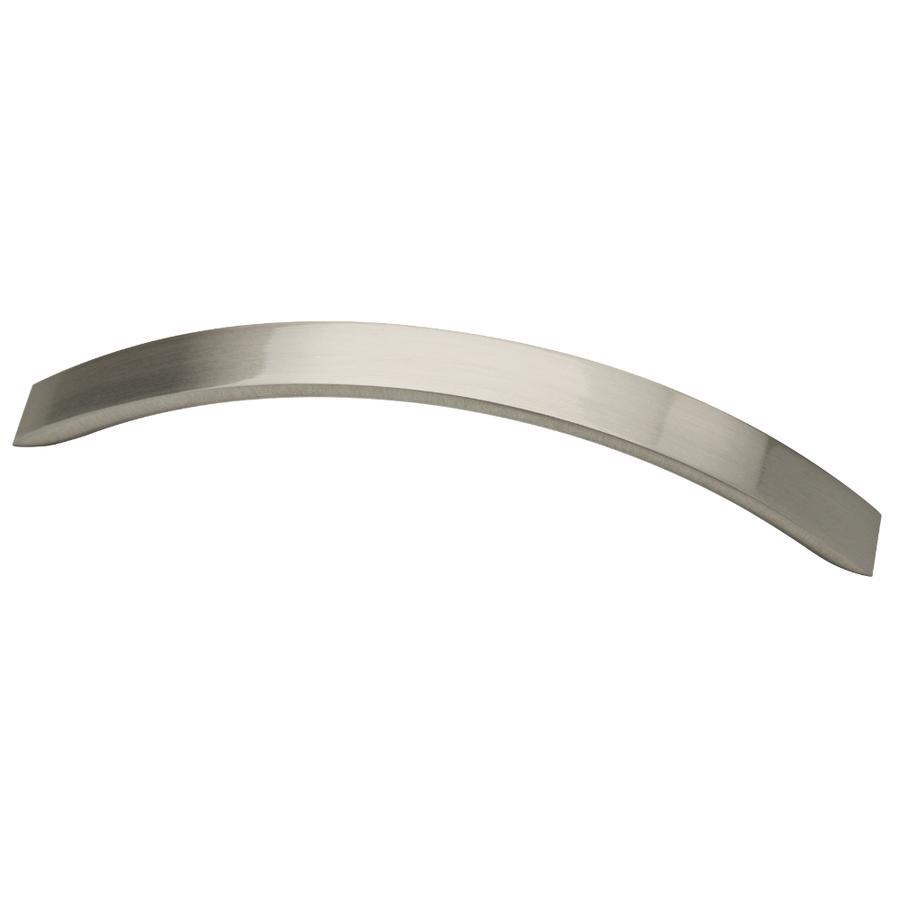 Lowes Kitchen Cabinet Pulls: Shop Brainerd 128mm Center-to-Center Satin Nickel Bar