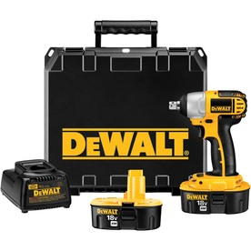 DeWALT 18-Volt 1/2-In Square Drive Cordless Impact Wrench...