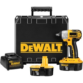 DeWALT 18-Volt 3/8-In Square Drive Cordless Impact Wrench...