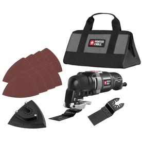 Porter Cable 11-Piece Corded 3-Amp Oscillating Tool Kit P...