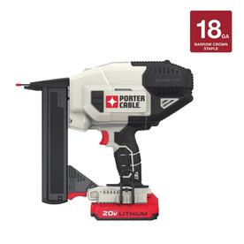Porter Cable 18-Gauge 20-Volt Brad Cordless Nailer With B...