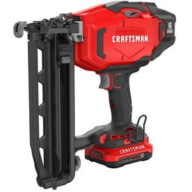 Craftsman V20 2.5-In 16-Gauge Finish Nailer Cmcn616c1
