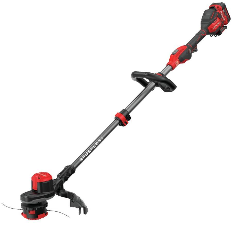 CRAFTSMAN V20 20-Volt Max 13-in Straight Cordless String Trimmer (Battery Included) | CMCST920M1