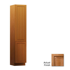 KraftMaid Provence 18-in W x 88.5-in H x 21-in D Maple Linen Cabinet VLC182188R. SM5B11