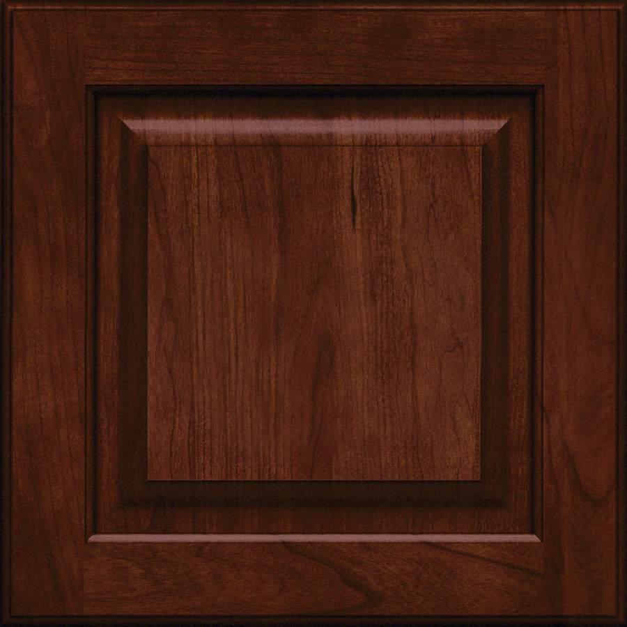 Free Kitchen Cabinet Samples: Shop KraftMaid Montclair 15-in X 15-in Kaffe Cherry Square