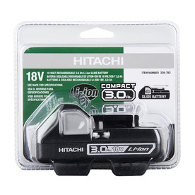 Hitachi 18-volt 3-Amp-Hours Lithium Power Tool Battery 339782