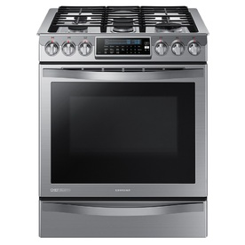 Samsung Chef Collection 5-Burner 5.8-Cu Ft Self-Cleaning ...