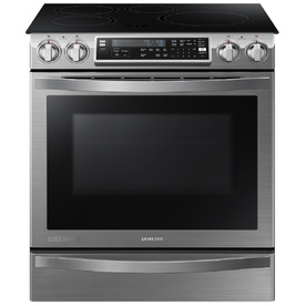 Samsung Chef Collection 5.8-Cu Ft Slide-In Induction Rang...