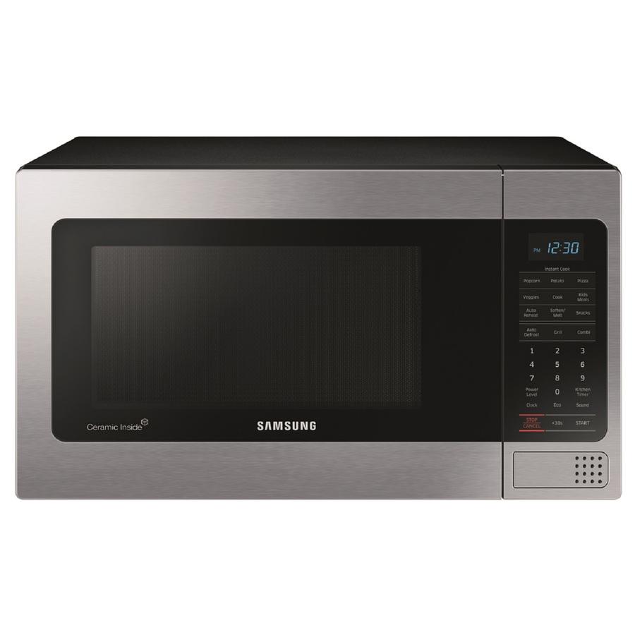 Samsung Microwave Oven Demo: Shop Samsung 1.1-cu Ft 1,000-Watt Countertop Microwave