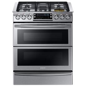 Samsung Chef Collection 30-In 5 2.4-Cu Ft / 3.3-Cu Ft Sel...