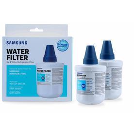 Samsung 2-Pack 6-Month Refrigerator Water Filter Haf-Cu1-2P