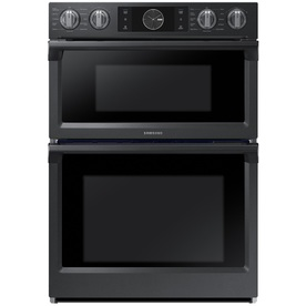 Samsung Self-Cleaning Convection Microwave Wall Oven Comb...