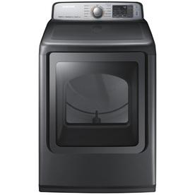 Samsung 7.4-Cu Ft Gas Dryer (Platinum) Dvg50m7450p