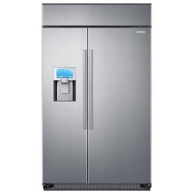 Samsung True 26.5-Cu Ft Built-In Side-By-Side Refrigerato...