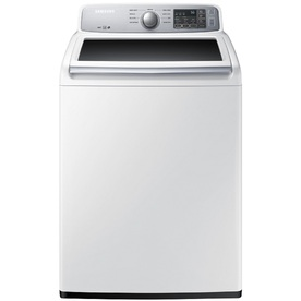 Samsung 4.5-Cu Ft High-Efficiency Top-Load Washer (White)...