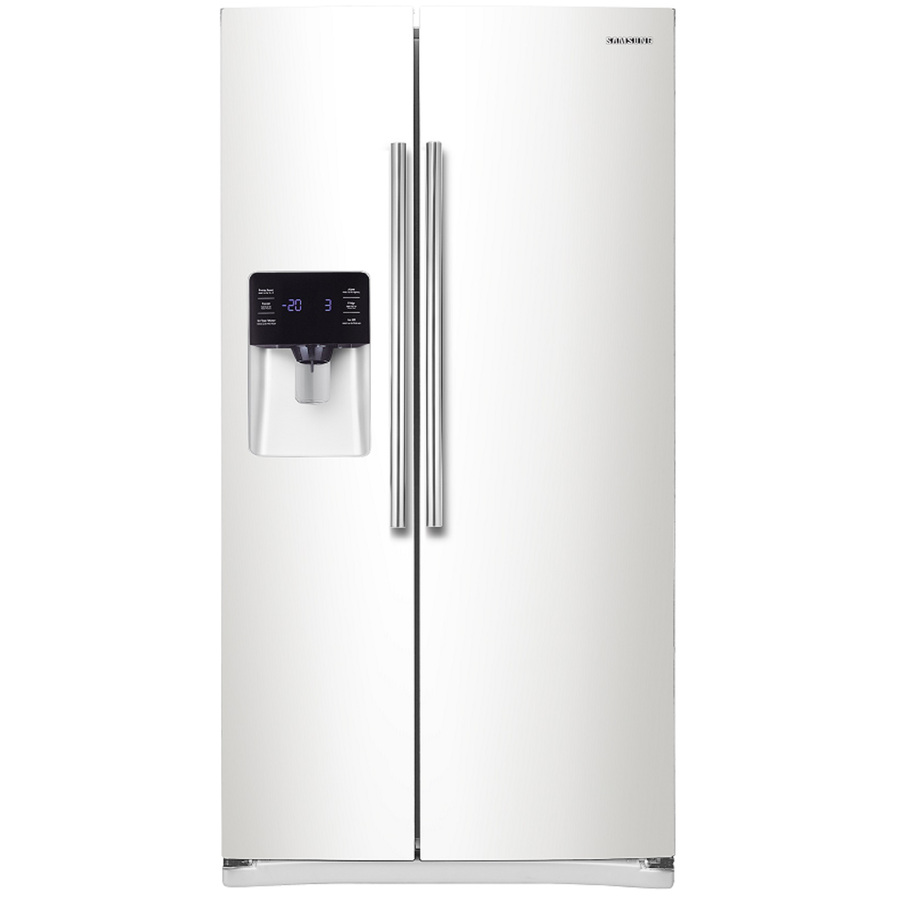 Shop Samsung 24 5 Cu Ft Side By Side Refrigerator With