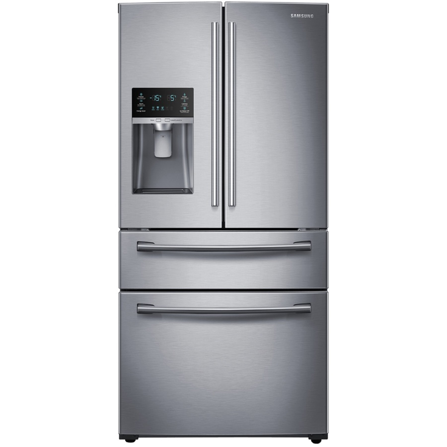 Just bought a new refrigerator at Lowe's and I can't say the service has been good. I was told that they were going to take the doors off and get it in the house.