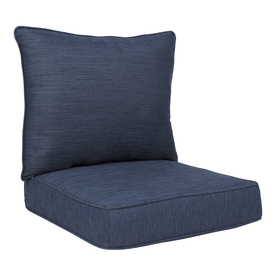 Display Product Reviews For 2 Piece Navy Deep Seat Patio Chair Cushion
