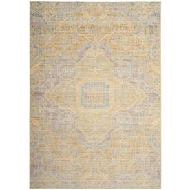 Safavieh Windsor Novin Light Gray/Lime Rectangular Indoor Machine-made Oriental Area Rug (Common: 9 X 13; Actual: 9-ft W x 13-ft L x 0-ft dia) WDS329E-913