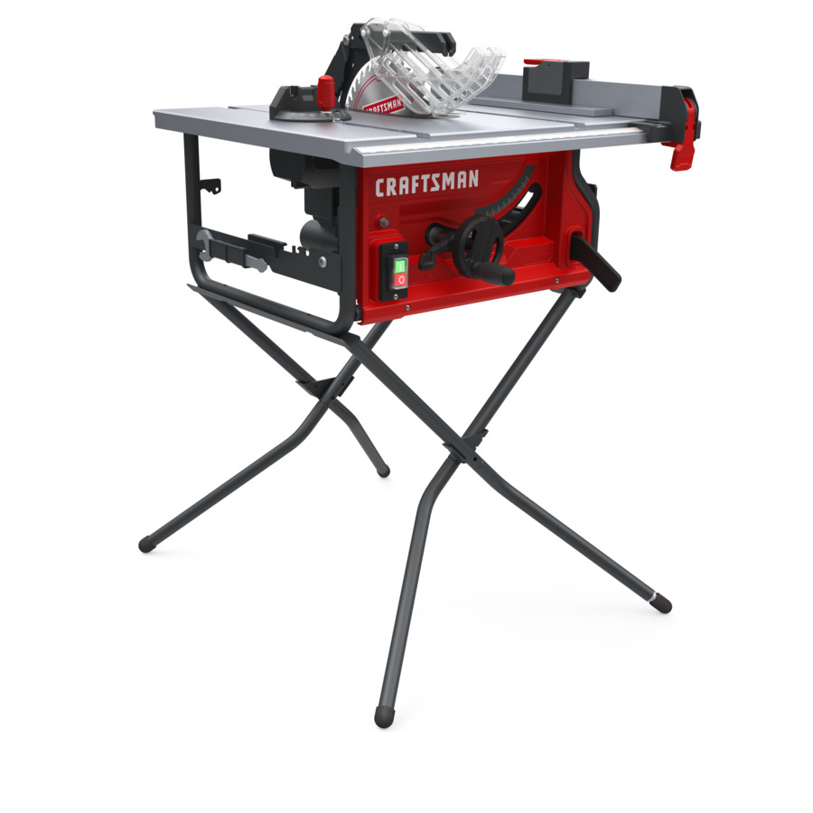 CRAFTSMAN 10-in Carbide-Tipped Blade 15-Amp Table Saw