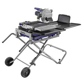 Shop Kobalt 10 In Wet Sliding Table Tile Saw With Stand At