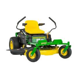 John Deere Z355E 22-HP V-Identical Dual Hydrostatic 48-in Zero-Turn Lawn Mower BG21044