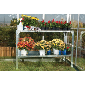 Greenhouse Accessory: Palram Steel Work Bench for Greenhouses